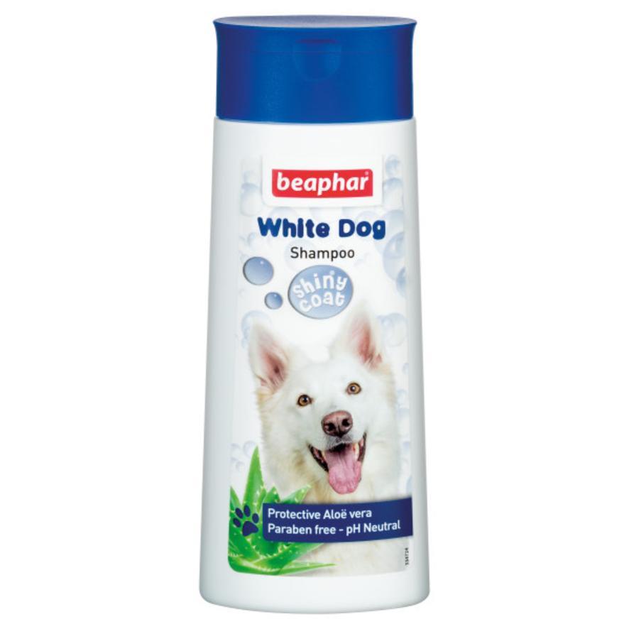 CLEARANCE BEAPHAR White Dog Shampoo 250ml