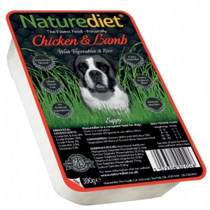 Naturediet with Chicken and Lamb 390gm
