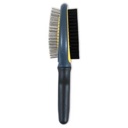 JW GripSoft Double Sided Brush for Dogs