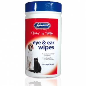 Johnsons Eye and Ear Wipes 50pcs