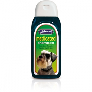 Johnsons Medicated Shampoo
