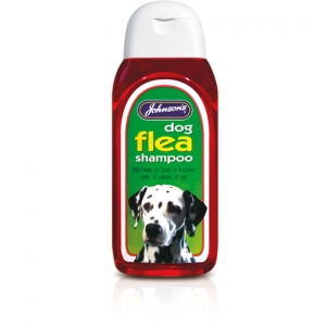 Johnsons Insecticidal Dog Flea Shampoo