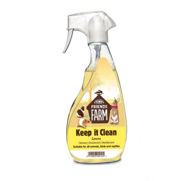 Tiny Friends Farm Keep It Clean Disinfectant Lemon 500ml