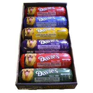 Davies Chub Rolls Assorted Flavours 6 x 800gm