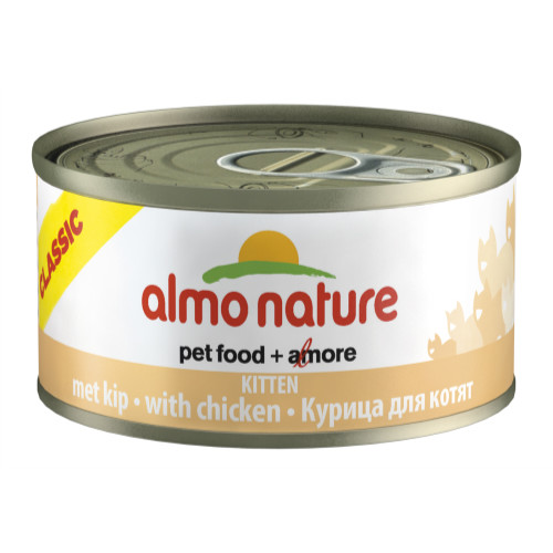 Almo Nature Kitten Food with Chicken 70gm