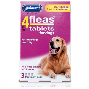Johnsons 4Fleas Tablets for Dogs 3-Tabs