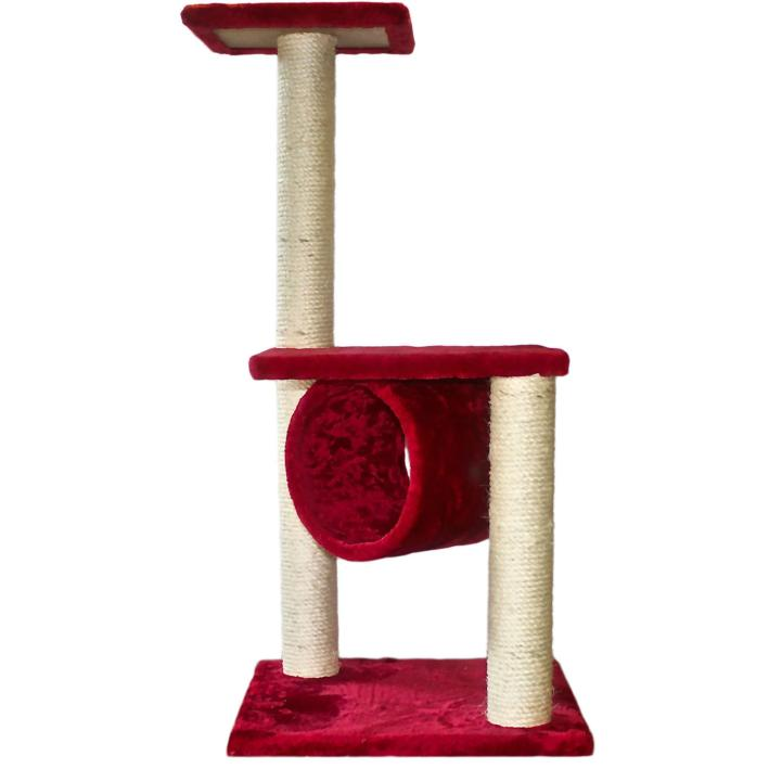 Koko Double Platform Scratcher Red