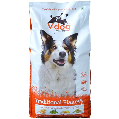 V-Dog Traditional Flakes Dog Food 15kg