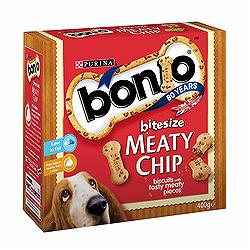 Bonio Meaty Chips Bitesize 400gm
