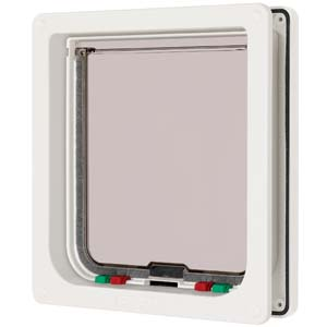 Petmate Large Cat Flap White 221w