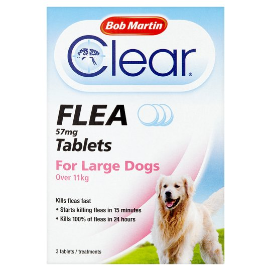 bob Martin Clear Flea Tablets for LArge Dogs