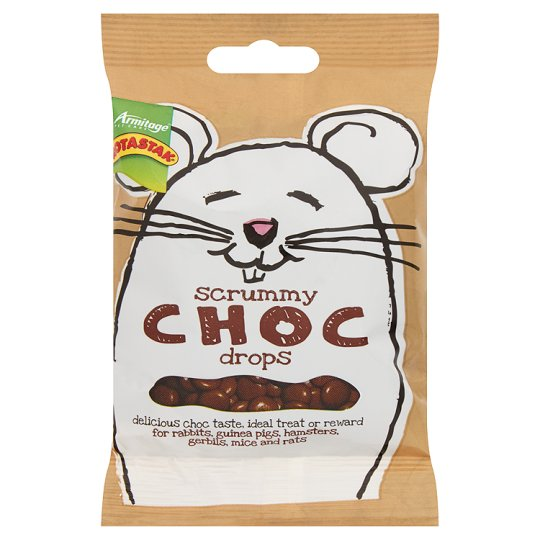 Rotastak Choc Drops for Rodents 50gm