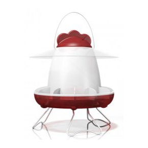 Feathers and Beaky Chicken Feeder 2L