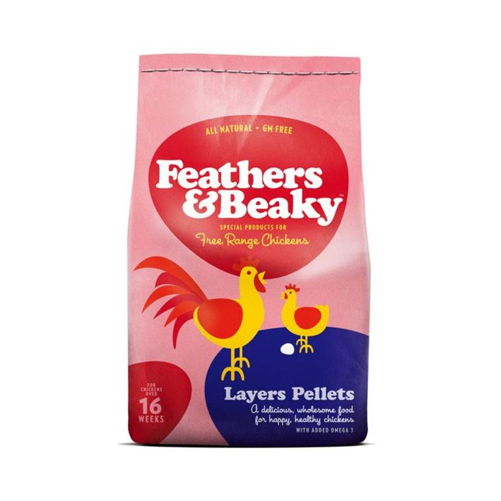 Feathers and Beaky Layers Pellets