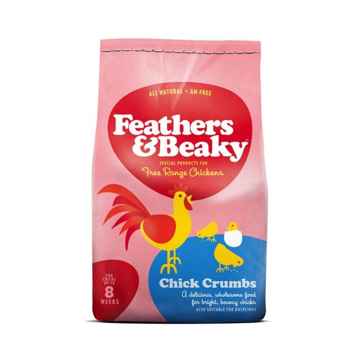 Feathers and Beaky Chick Crumbs