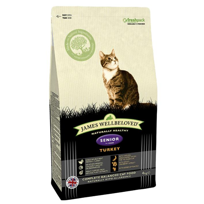 Dry Cat Food Purely Senior