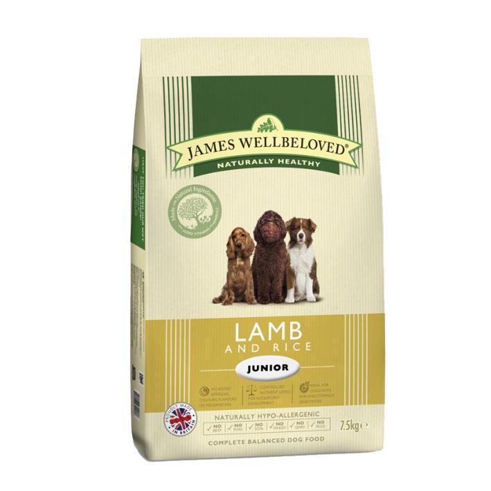 James Wellbeloved Junior Dry Dog Food