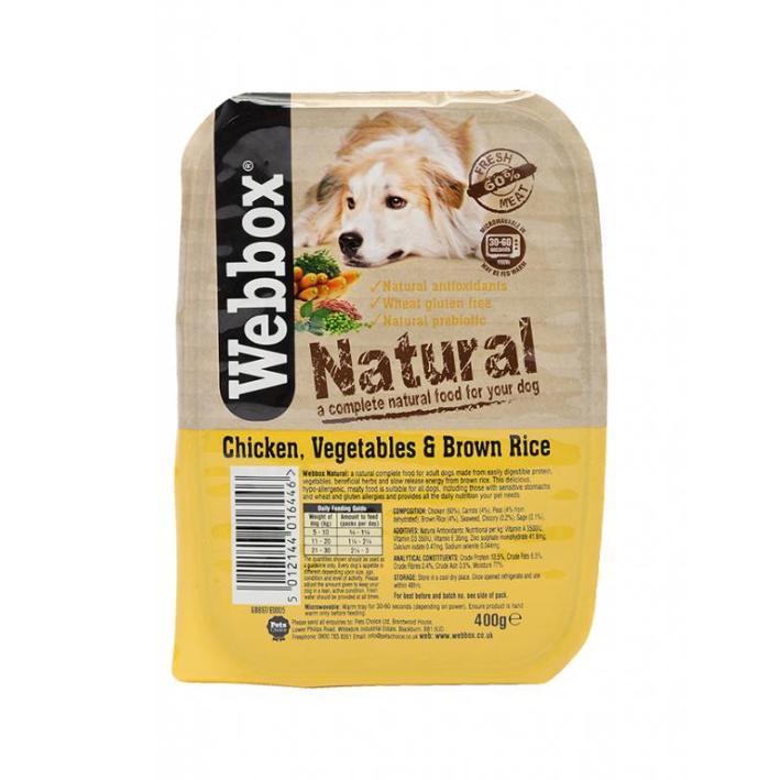 Webbox Natural Trays Chicken