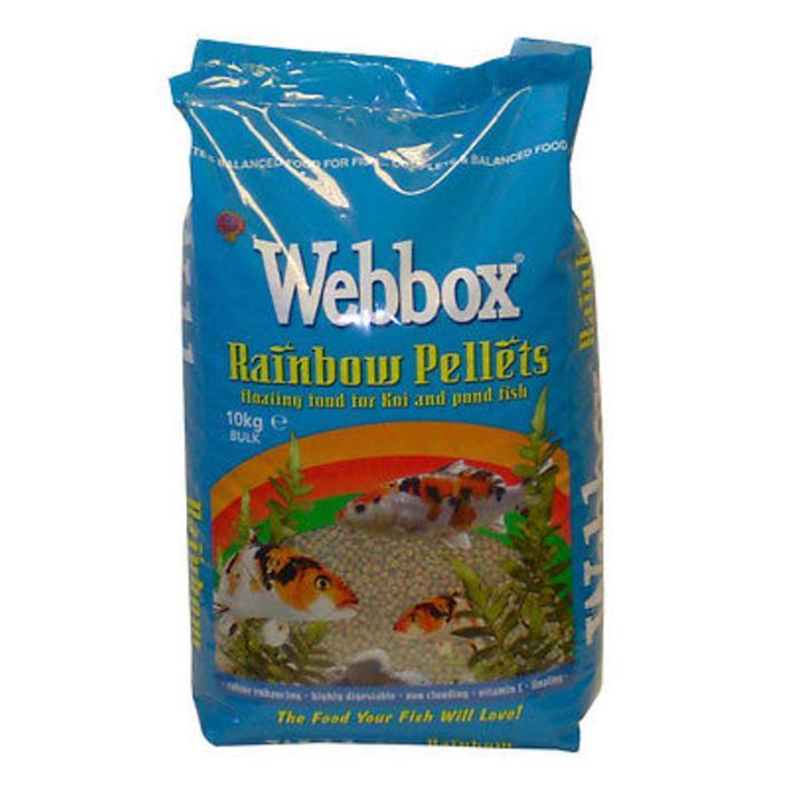 Webbox Rainbow Pellets 10kg