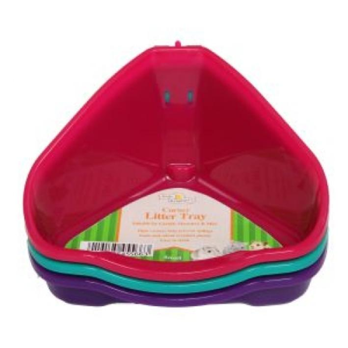 Walter Harrisons Corner Litter Tray Small 16cm
