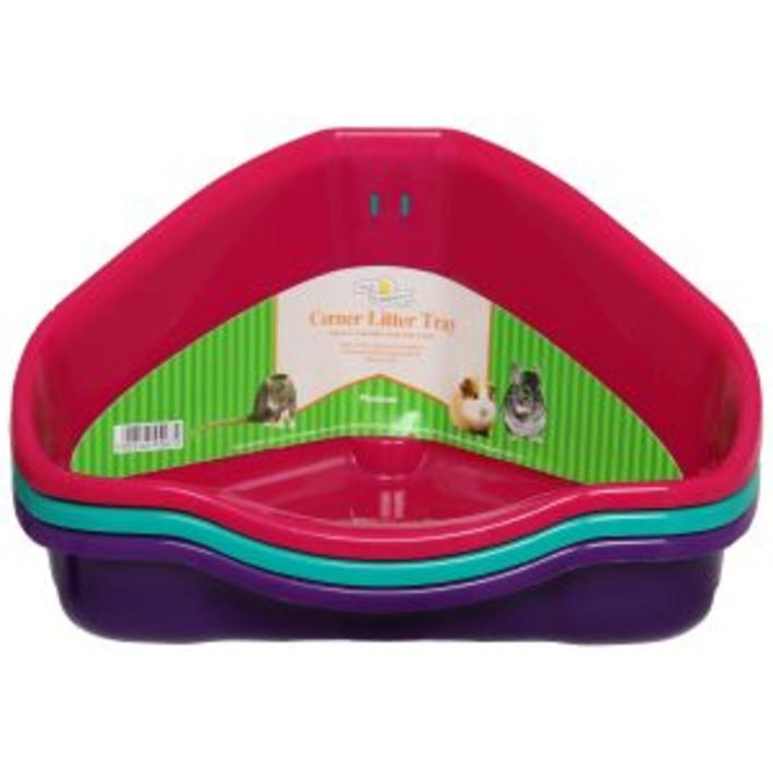 Walter Harrisons Corner Litter Tray Medium 34cm
