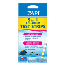 API 5 in 1 Test Strips 4pk