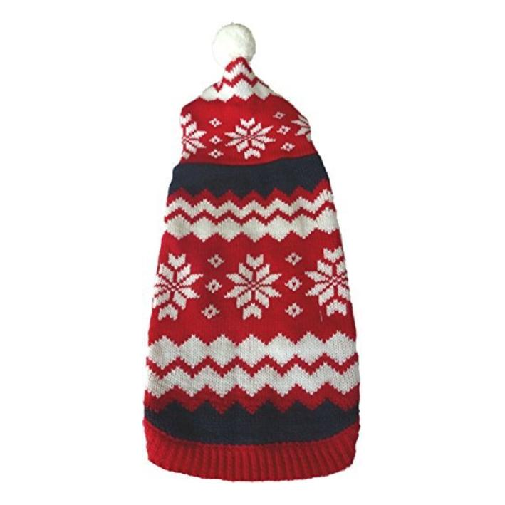 Animate Snowflake Hooded Christmas Jumper