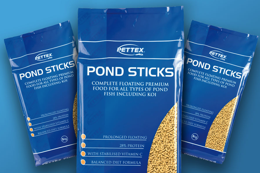 Pettex pond sticks purely pet supplies ltd for Koi pond sticks