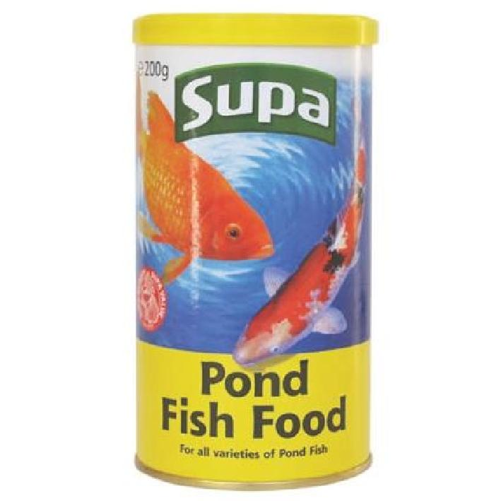 Supa Pond Food