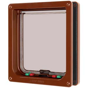 Petmate Large Cat Flap Brown