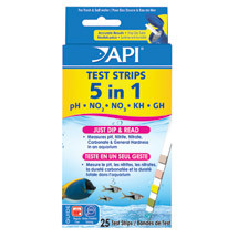 API 5 in 1 Test Strips 25pk