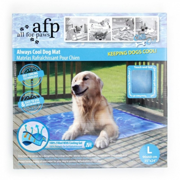 All for Paws Always Cool Dog Mat LARGE