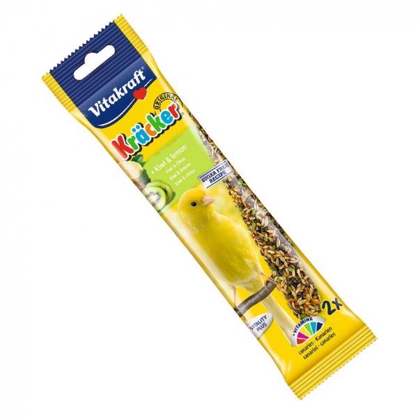 Vitakraft Kracker Sticks Kiwi and Lemon for Canaries 2pcs
