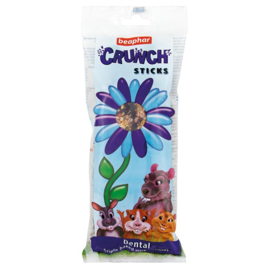 CLEARANCE BEAPHAR Crunch Sticks Dental with Silica 2pcs