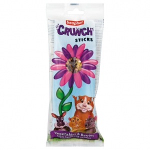 Beaphar Crunch Sticks Vegetables and Berries 2pcs