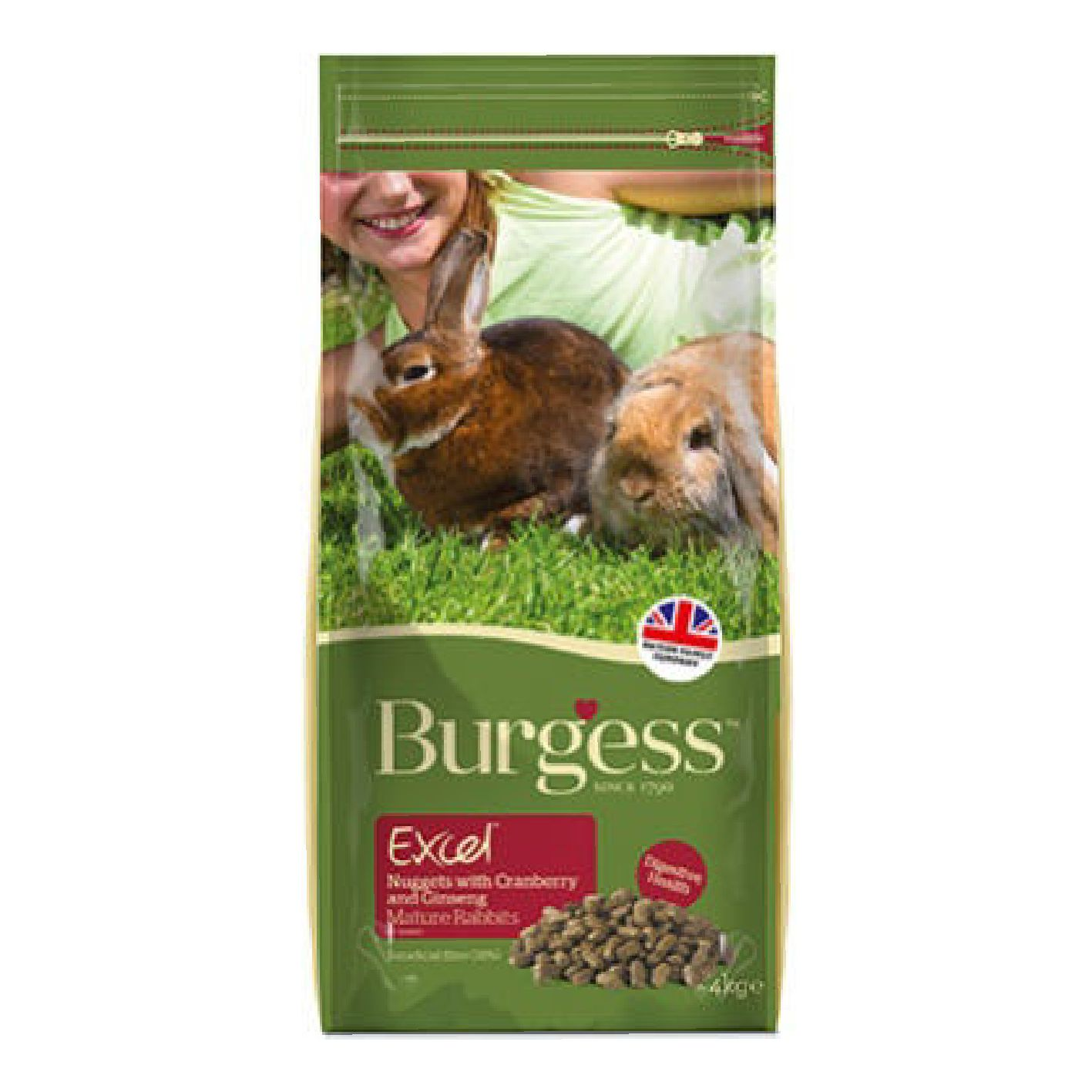 Burgess Excel Rabbit Nuggets Mature