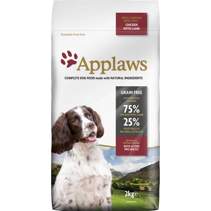 Applaws Dog Food with Chicken and Lamb