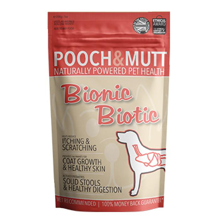 CLEARANCE Pooch and Mutt Bionic Biotic Supplement 200gm