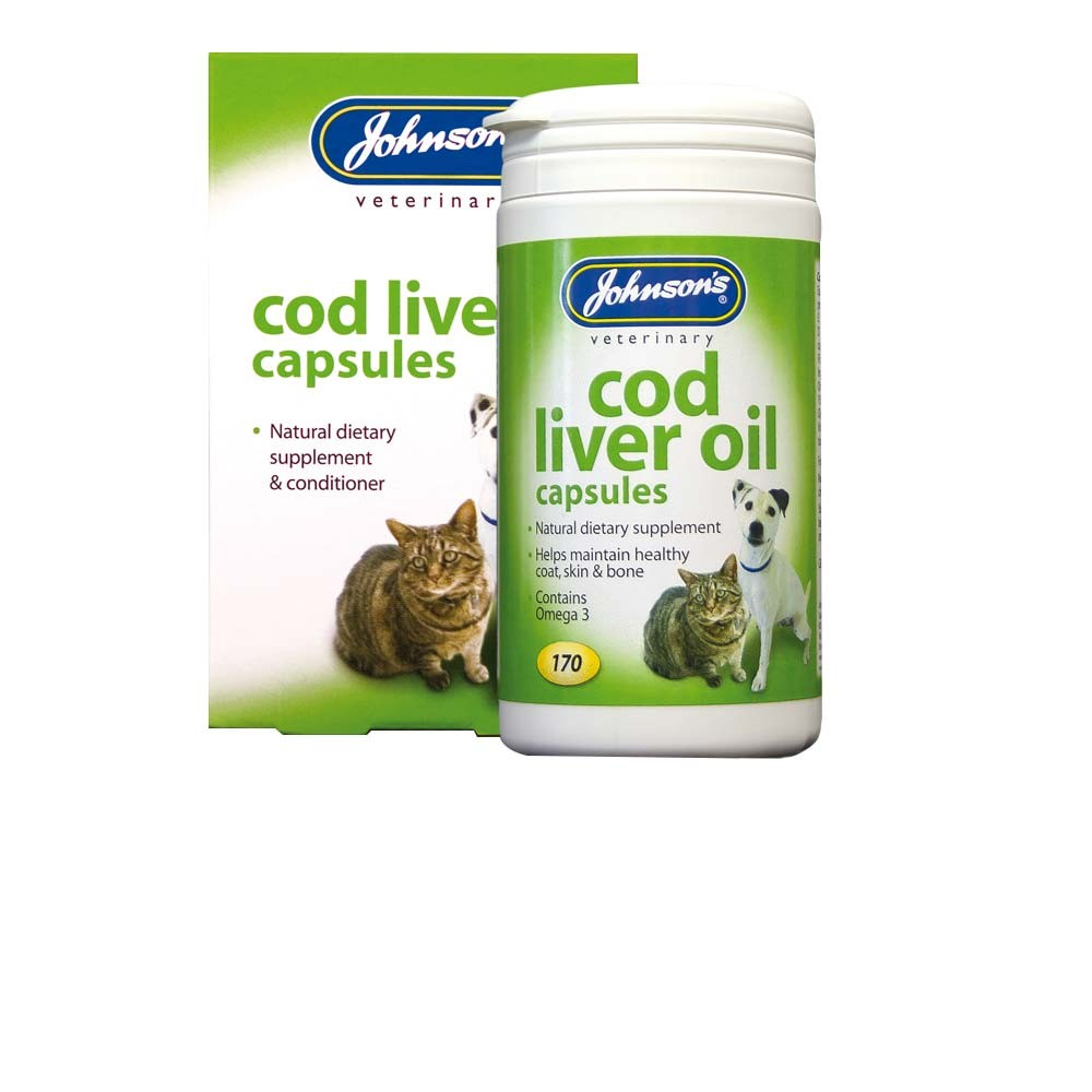 Johnsons Cod Liver Oil Capsules 170s