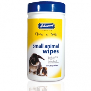 Johnsons Small Animal Wipes