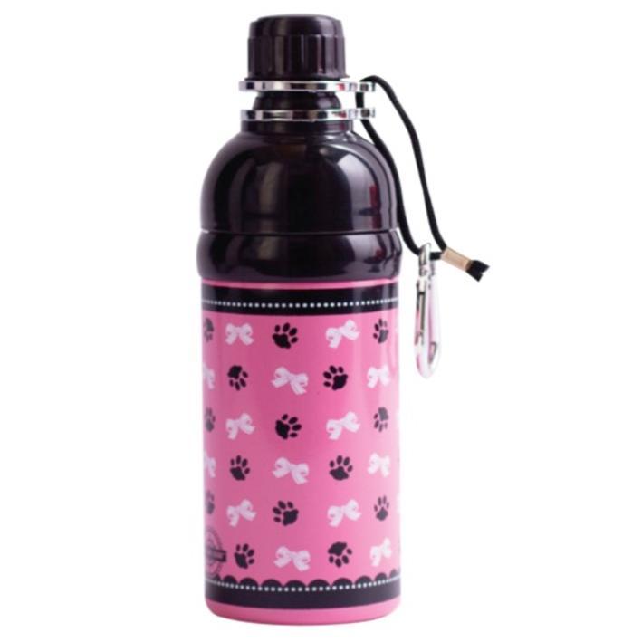 CLEARANCE Long Paws Pet Water Bottle Princess Design 500ml