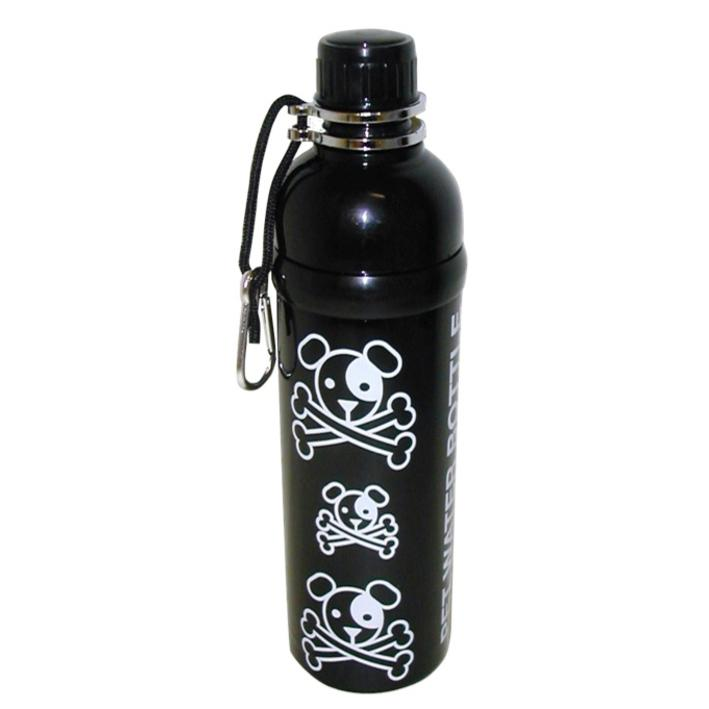 Long Paws Pet Water Bottle PUPPY PIRATE Design 750ml