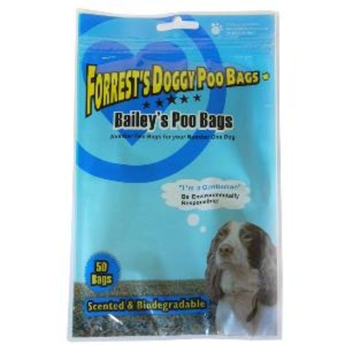 Baileys Biodegradable Poo Bags 50pcs