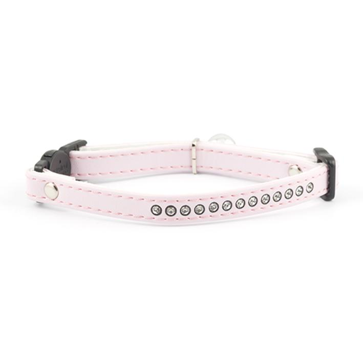 Ancol Jewelled Cat Collar Baby Pink