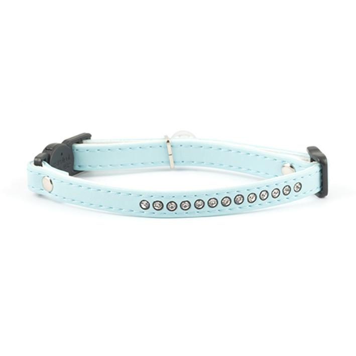 Ancol Jewelled Cat Collar Baby Blue