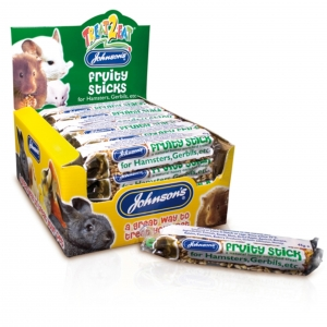 Johnsons Fruity Sticks for Hamsters and Gerbils