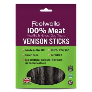 Feelwells Venison Sticks 100gm