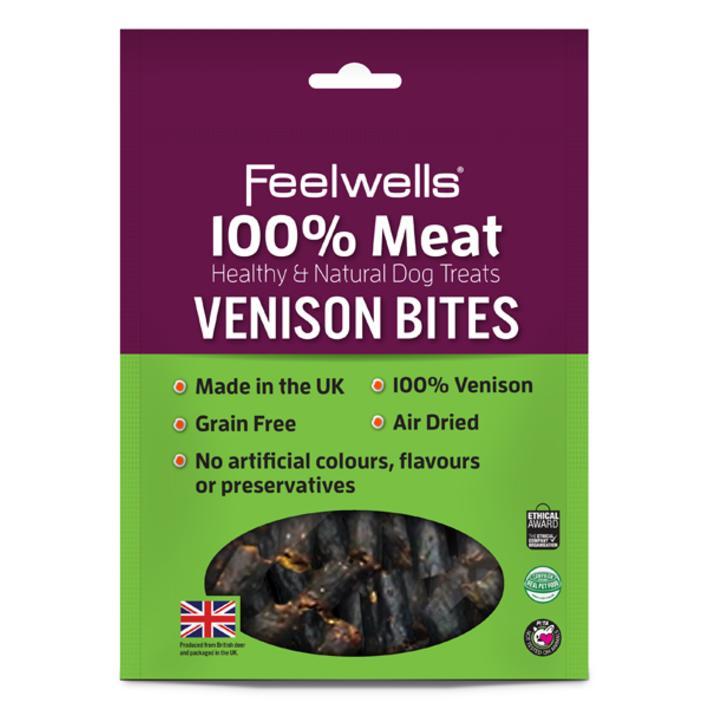 Feelwells Venison Bites 100gm