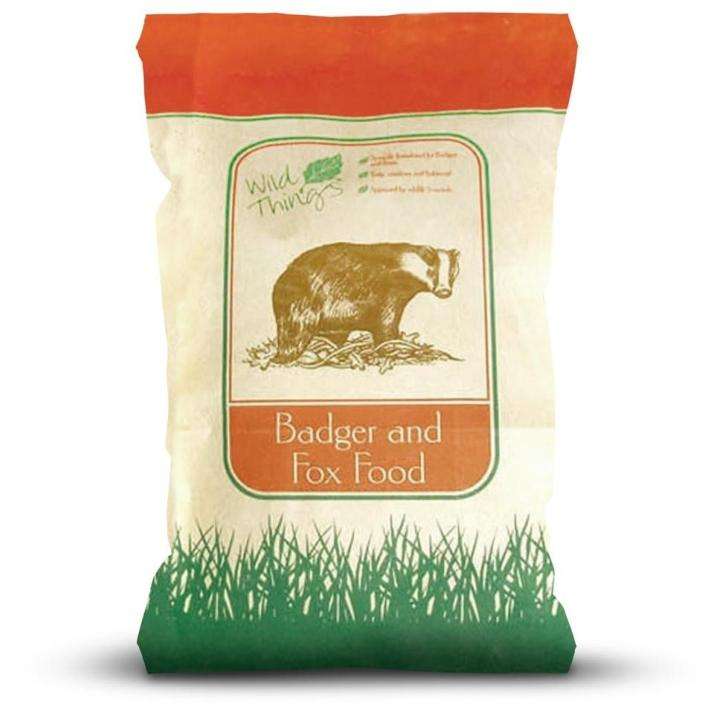 Wild Things Badger and Fox Food