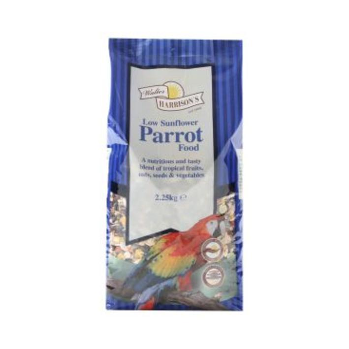 Walter Harrisons Low Sunflower Parrot Food
